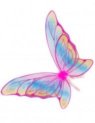 Ali da farfalla multicolor per bambina