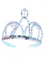 Corona da principessa blu per bambina