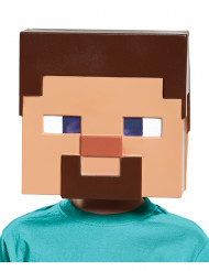 Maschera Steve Minecraft™ per bambino