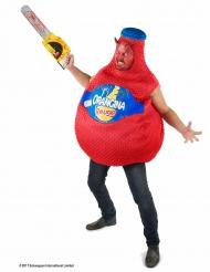 Costume bottiglia rossa di Orangina™