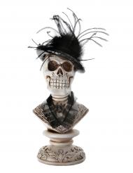 Decorazione teschio gotico Halloween