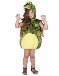 Costume dinosauro verde bambino