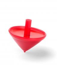 Trottola rossa in plastica
