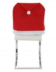 2 fodere per sedie con cappello natalizio