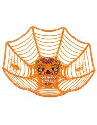 Ciotola arancione Dia de los muertos