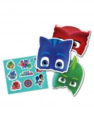 6 maschere con adesivi Super Pigiamini™