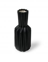 Vaso in resina nero