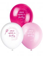 8 palloncini in lattice principessa e unicorno