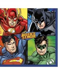 16 tovaglioli di carta Justice League™