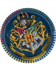 8 piattini in cartone Harry Potter™ 18 cm