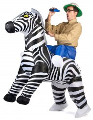 Costume Carry Me zebra per adulto