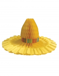 Centro tavola cappello di paglia messico