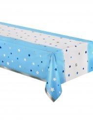 Tovaglia in plastica Little Star blu