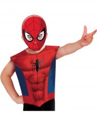 T-shirt e maschera Spiderman™ per bambino