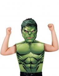 T-shirt e maschera Hulk™ per bambino