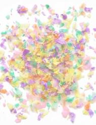 Mini sacchetto di coriandoli di carta ignifuga pastello 50 gr