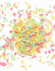 Mini sacchetto di coriandoli di carta ignifuga colorata 50 gr