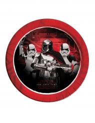 8 piatti in cartone Star Wars 8 Gli ultimi Jedi™ 23 cm