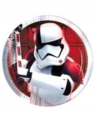 8 piattini in cartone Star Wars 8 Gli ultimi Jedi™ 20 cm