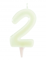 Candelina fosforescente numero 2