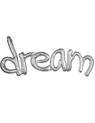 Palloncino alluminio argentato dream