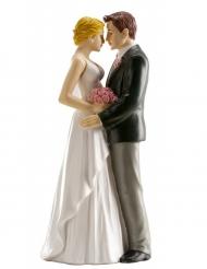 Statuina coppia di sposi 16 cm