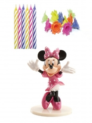 Kit di decorazioni per torta e candeline Minnie™