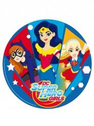Disco di zucchero DC Super Hero Girls™ 20 cm