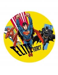 Disco di zucchero per torte Justice League™ 20 cm