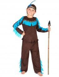 Costume da indiano in marrone per bambino
