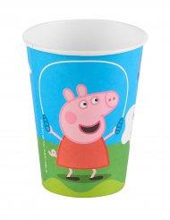 6 bicchieri in cartone Peppa Pig™