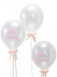 10 palloncini trasparenti piccolo elefante