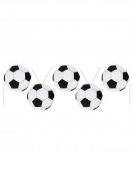 Ghirlanda di palloni di calcio in cartone