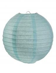 2 lanterne color celeste 20 cm