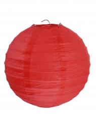 2 lanterne color rosso 20 cm