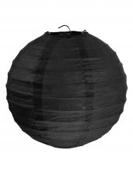 2 lanterne color nero 20 cm