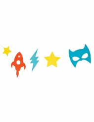Ghirlanda multicolor super eroi