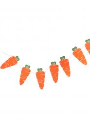 Ghirlanda in cartone con carote