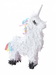 Mini pignatta bianca unicorno
