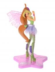 Statuina per dolci in plastica Winx™ Flora™