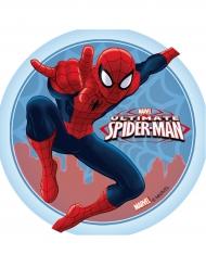 Disco di ostia con Spiderman™ bordo celeste