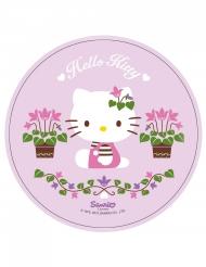Disco di ostia rosa con Hello Kitty™ 21 cm
