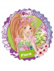 Disco di ostia Winx™ con Flora 21 cm