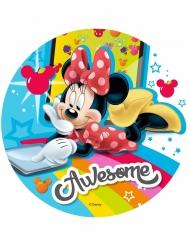 Disco di ostia Minnie™ multicolor 21 cm