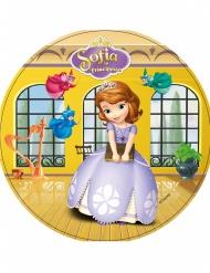 Disco di ostia Sofia la principessa™ giallo 21 cm