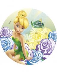 Disco di ostia con fiori Trilli™ 21 cm