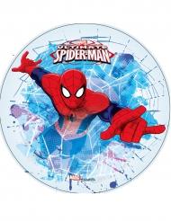 Disco di ostia Spiderman™ celeste e rosso 21 cm