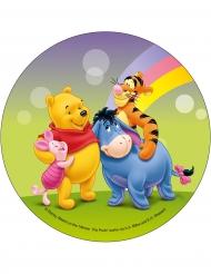 Disco di ostia verde Winnie The Pooh™ 21 cm