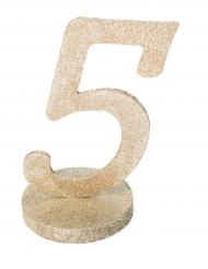 Centrotavola color champagne numero 5