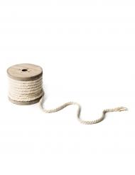 Bobina di corda color avorio